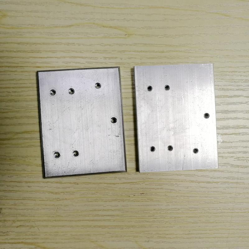 多孔铝块 铝块加工 铝合金钻孔 铝块