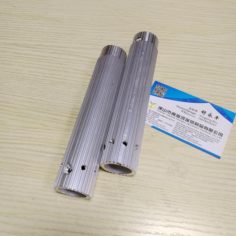 滚筒铝管 散热铝管 腔体散热管 铝散